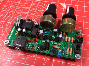 CW Practice Oscillator v2.05 StAR Edition Rear