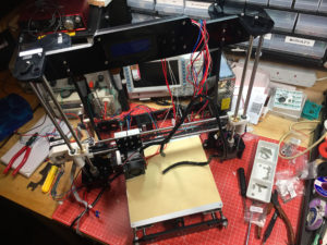 3D Printer Almost Finished